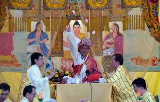 Buddhist ritual of Seet Goh