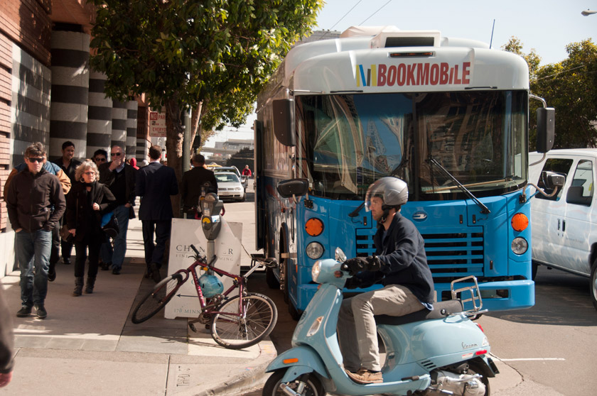 Book Mobile in San Francisco
